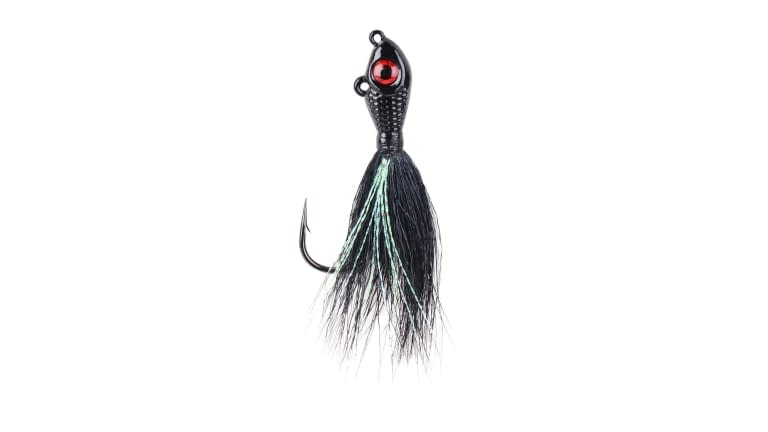 Mustad Big Eye Bucktail Jig - BEB 3/4BKSI