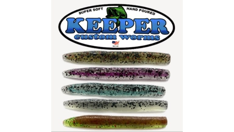 "Keeper Fat 3"" Do Nothing Ned Worms"