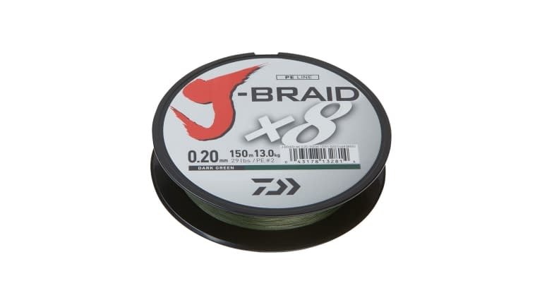Daiwa J Braid 8 Strand - JB8U80-300DG