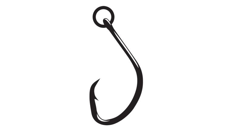 Gamakatsu Nautilus Hook Circle W/Ring