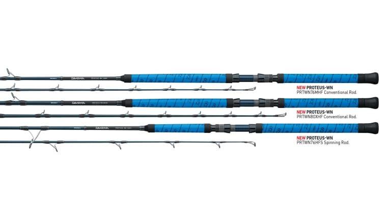 "Daiwa Proteus Winn Conventional Rod ""Blue"" - 76hf"