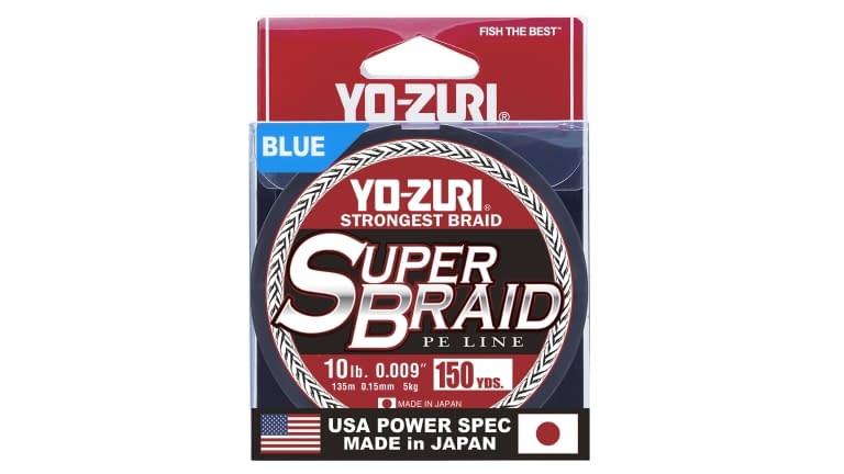Yo-Zuri Superbraid 150yd - SB10LBBL150