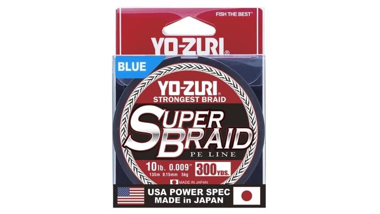 Yo-Zuri Superbraid 300yd - SB10LBBL300