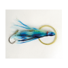 P-Line Rigged Squids - Style: Glow/Blue